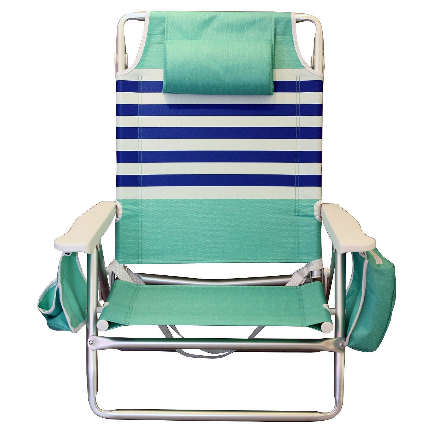Amazon Nautica Reclining Portable Beach Chair with Insulated