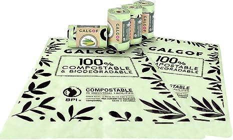 Bolsas de basura biodegradables e higiénicas para caca y heces de ...