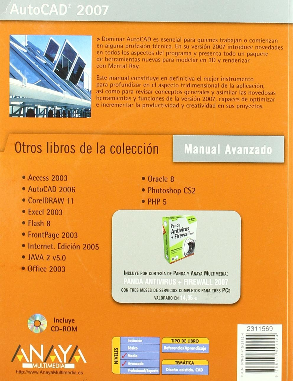Autocad 2007 (Manual Avanzado / Advanced Manual) (Spanish Edition): Milton  Chanes: 9788441521124: Amazon.com: Books