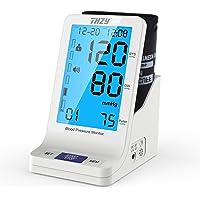 Blutdruckmessgerät Oberarm Digitale Blutdruck Messen Manschette Extra Großer Arm FDA Genehmigt für Zwei Nutzer 2 x 90 Speicherbare