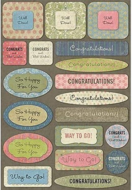 Karen Foster Cardstock Stickers-In Loving Memory