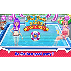 Fiesta de piscina Juego chicas - ¡Batir el calor del verano con ...
