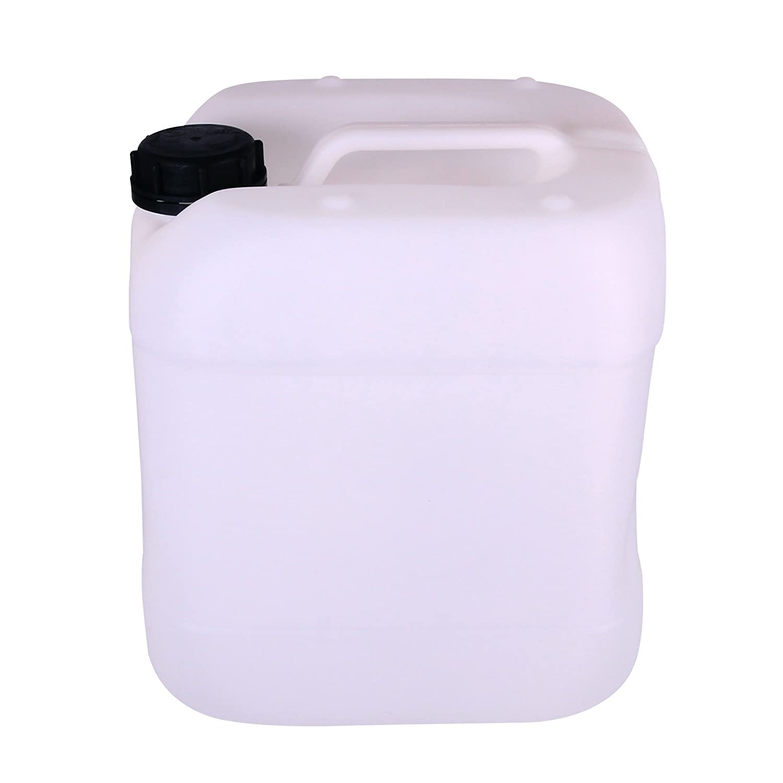 mit Schraubverschluss natur aus HDPE Premium Kanister 15L