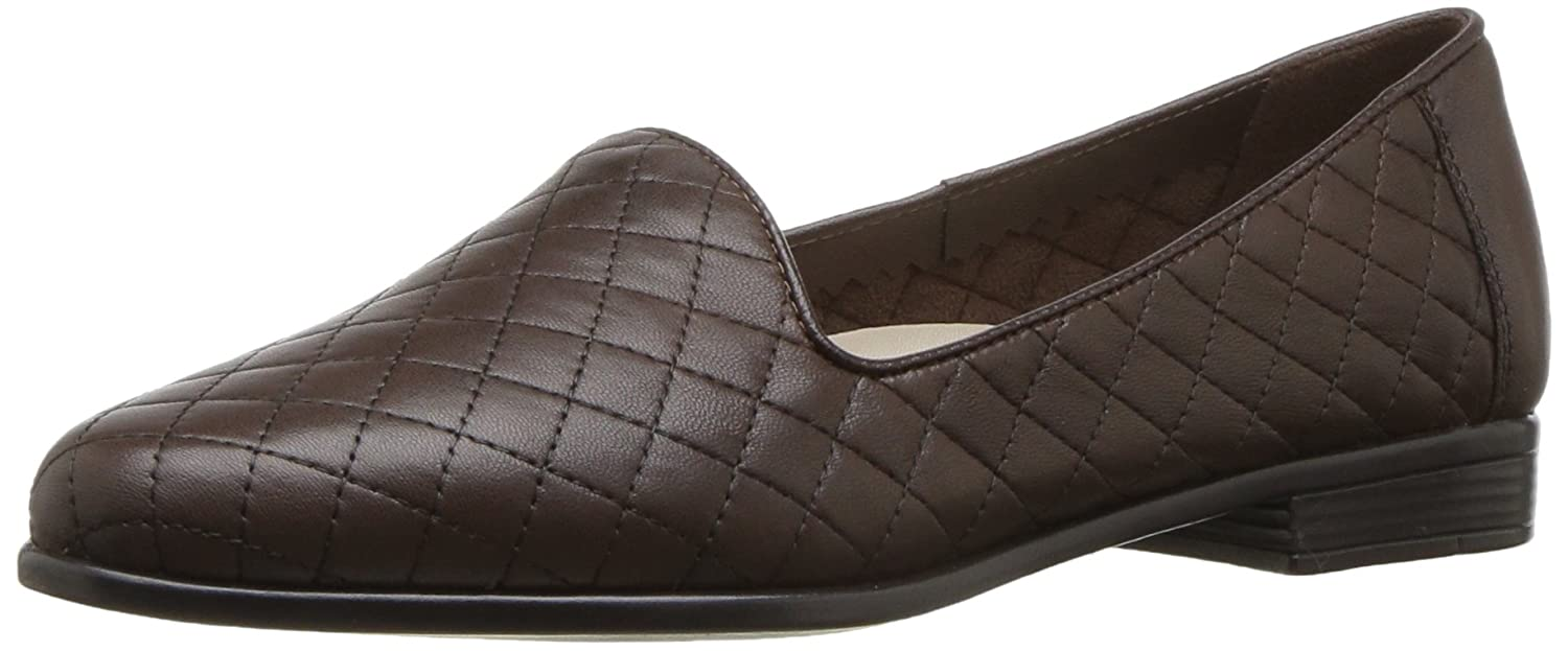 Trotters Women's Liz Flat B01MT1S5O6 11.5 W US|Dark Brown