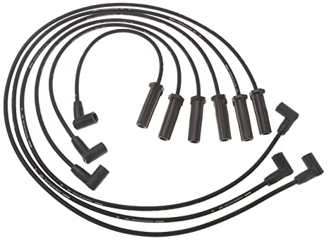 Amazon Com Acdelco 9746bb Professional Spark Plug Wire Set Automotive