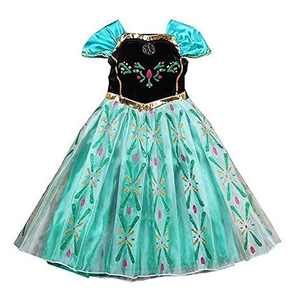nice sport robes enfant princesse anna la reine des neiges cosplay costume dguisement cadeau anniversaire - Robe Anna Reine Des Neiges