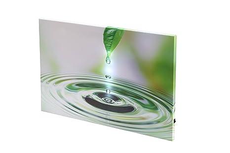 Dapo Led Leinwandbild 3d Wandbild Mit Beleuchtung Bild 40x60cm