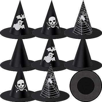 Adulte Femmes Sorcière toile d/'araignée toile d/'araignée sorcière chapeau serre-tête Halloween Accessoire