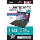 マイクロソフト Surface Pro 2 / Surface Pro 用 液晶保護フィルム 指紋防止 反射防止 気泡レス加工 TBF-SFP13FLGS