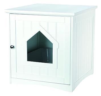 katzenklo kaufen beautiful pawhut katzenhaus mit griff. Black Bedroom Furniture Sets. Home Design Ideas