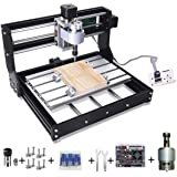 Upgrade Version CNC 3018 Pro GRBL Control DIY Mini CNC Machine, 3 Axis Pcb Milling Machine, Wood Router Engraver with…