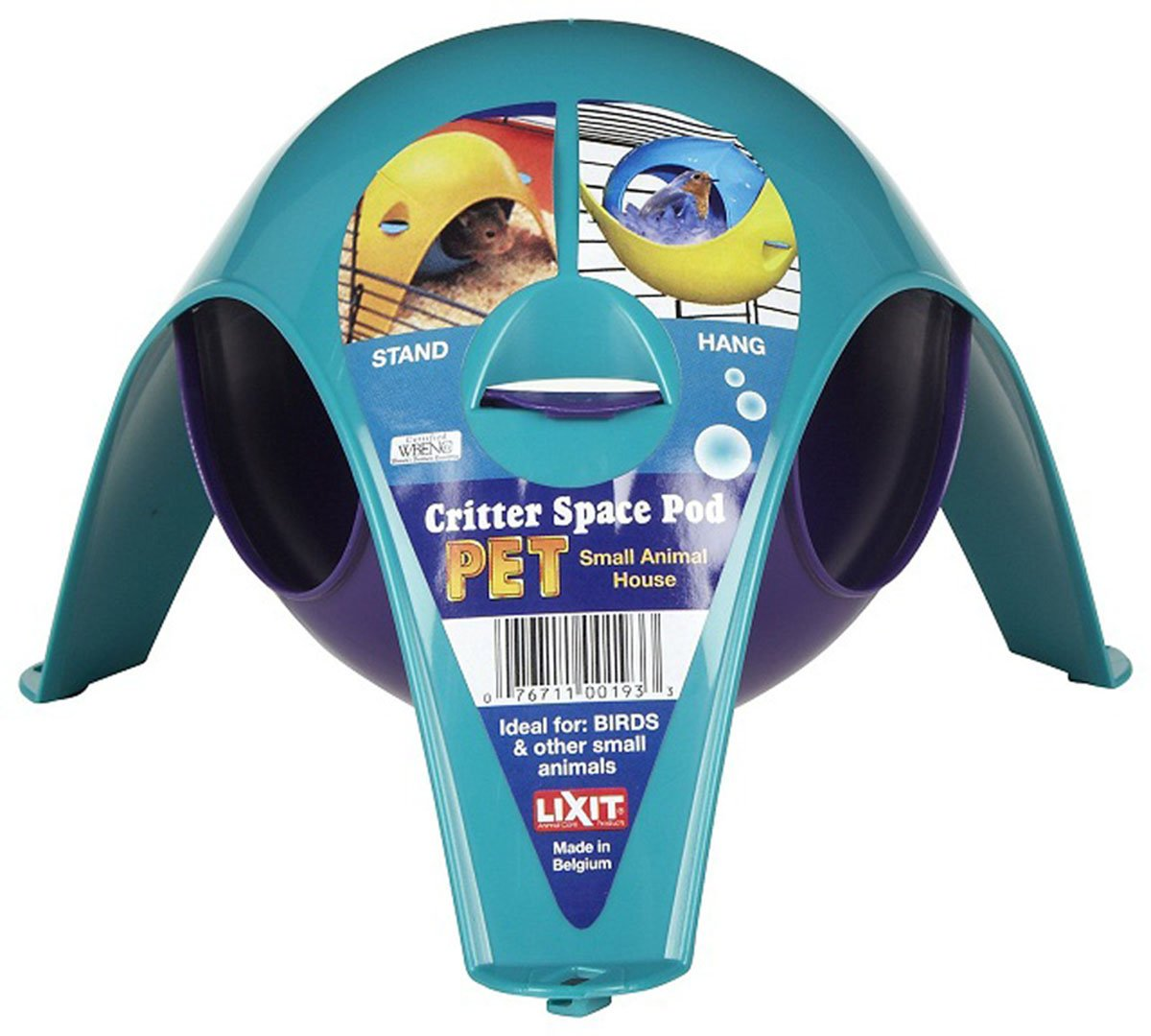 Lixit Critter Space Pod 2 Large