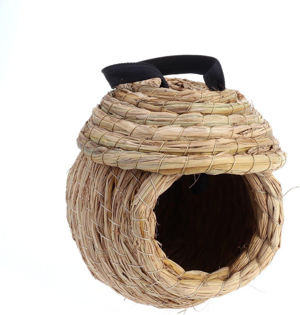Ueetek - Nido para pájaros para loro, hamaca, cama para animales pequeños, 21,5 cm