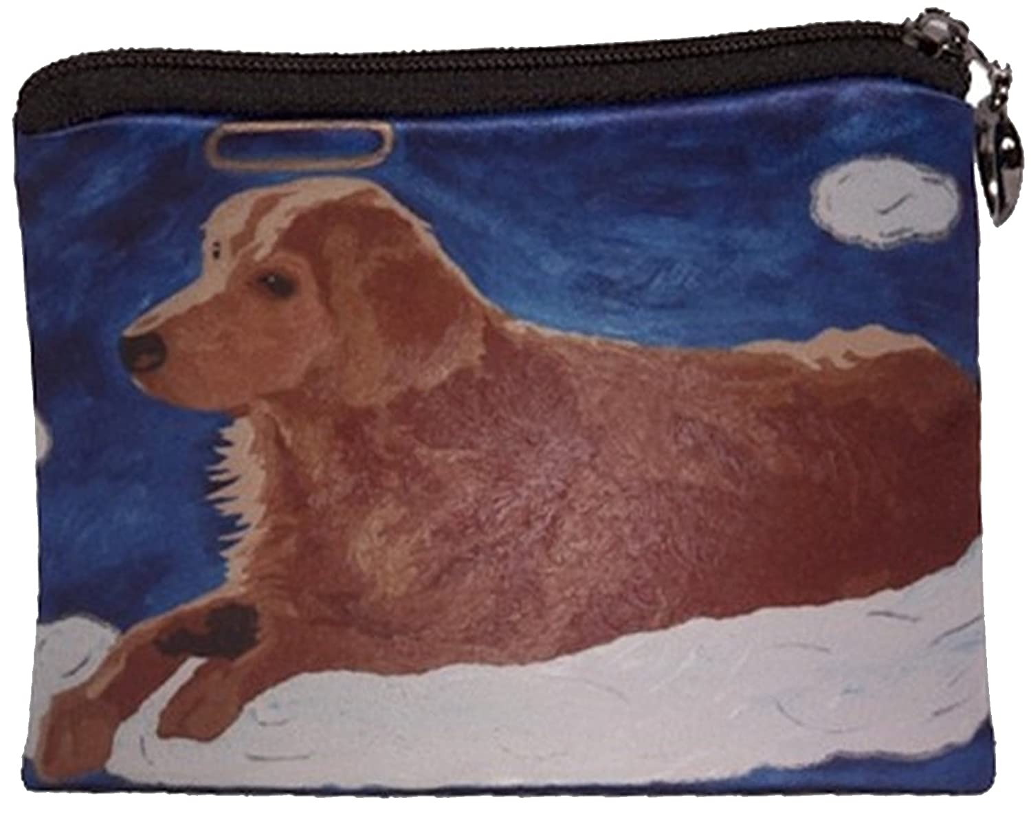 Dog Change Purse, Dog Coin Purse, Angel Dog, From My Original Painting, Ginger