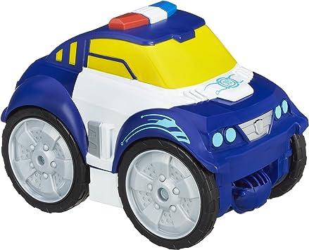 Playskool Police Bot Transformers Resque Bot Flip Changers 12inch Hasbro