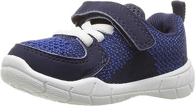 Carters Kids Avion-b Blue Athletic Sneaker