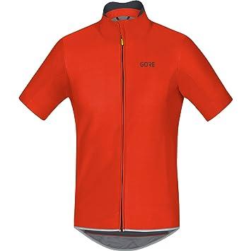 gore Gore Wear Homme Maillot de Cyclisme sur Route à Manches Courtes Coupe-Vent, Gore C5 Gore Windstopper Jersey, Taille: L, Couleur: , 100221
