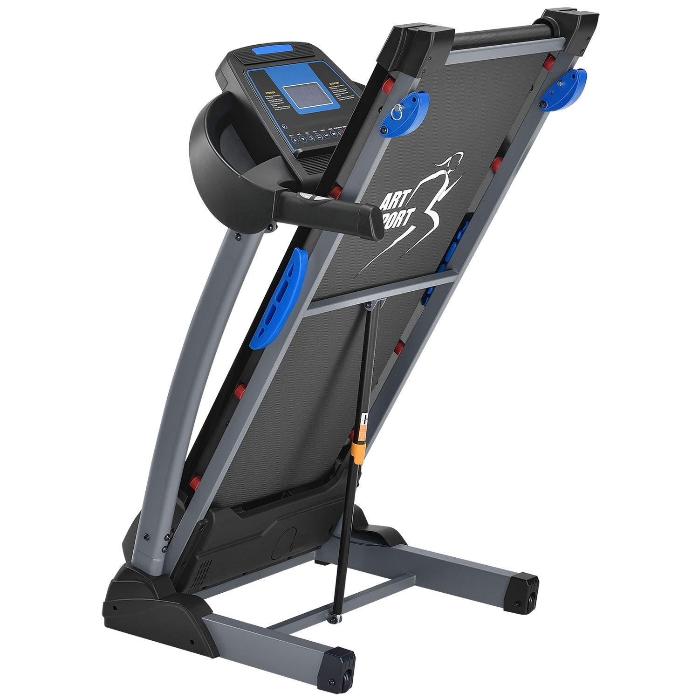 ArtSport Laufband Speedrunner 3500 klappbar mit Steigung Semi Professional bis 150 kg belastbar | elektrisch mit Motor