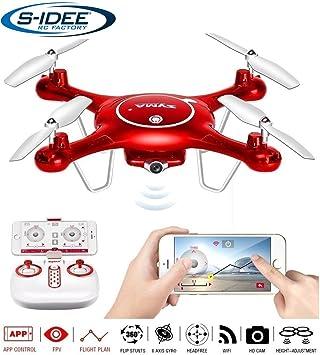 S de Idea® 01652 x5uw cuadricóptero Syma WiFi HD cámara FPV Altura ...