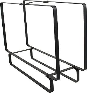 product image for Enclume LR37 BK Indoor/Outdoor Rectangular Fireplace Log Rack, Medium, Black