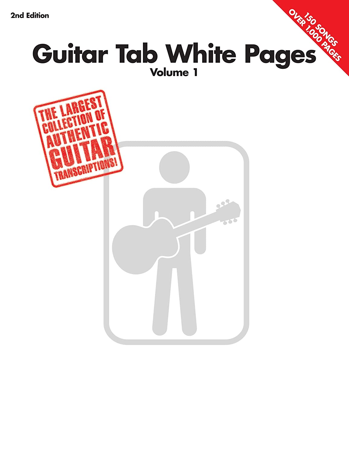 Guitar Tab White Pages - Volume 1 (English Edition) eBook: Hal ...