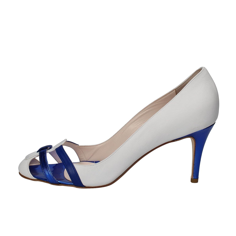 Zum Zehe Metall Spitz Rot Schuhe überstreifen Halbschuhe