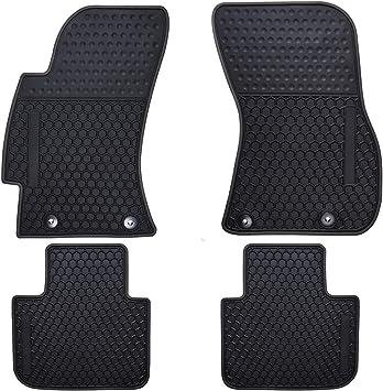 Coverking Custom Fit Front Floor Mats for Select Subaru Justy Models Nylon Carpet Black