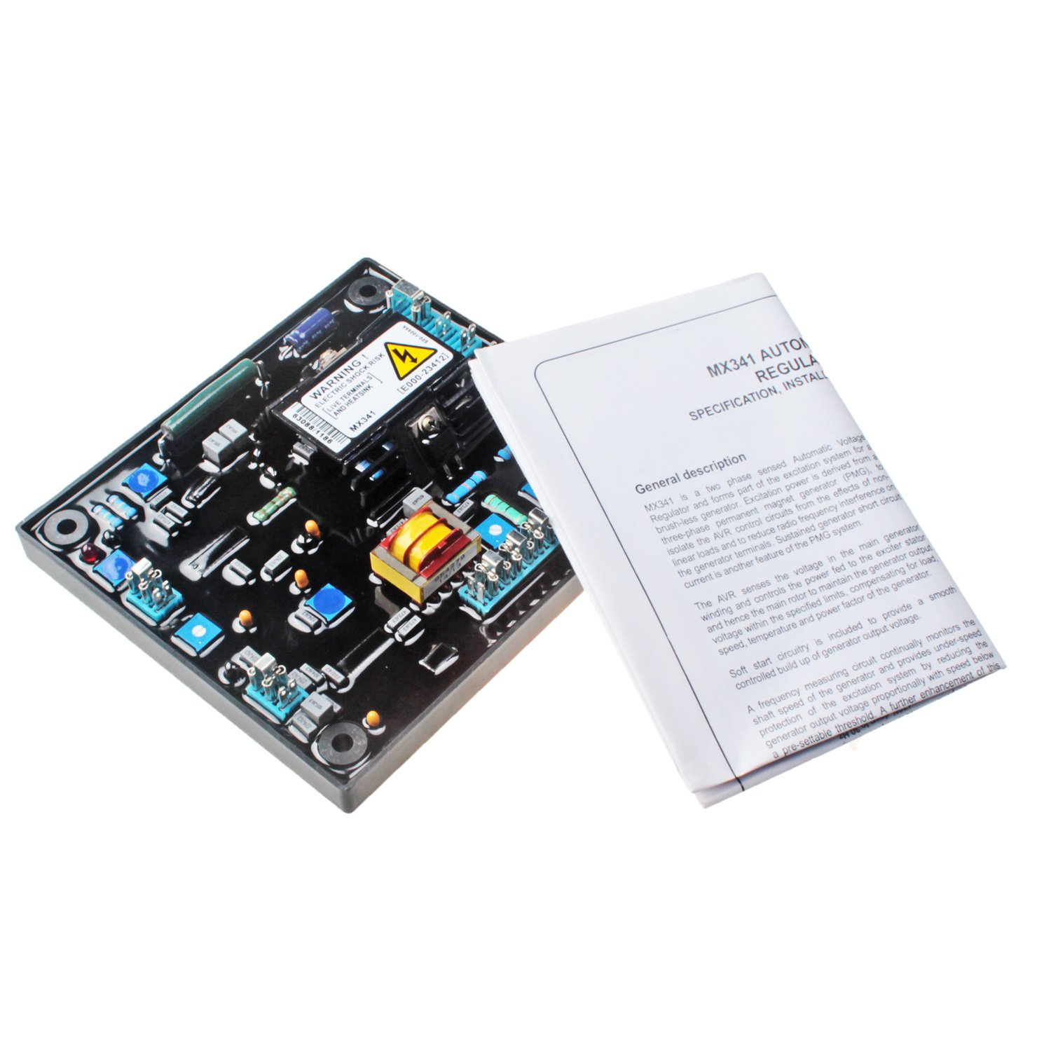Mover Parts Avr Mx341 Automatic Voltage Regulator Fits Stamford Generator Short Circuit With 1 Year Warranty Automotive