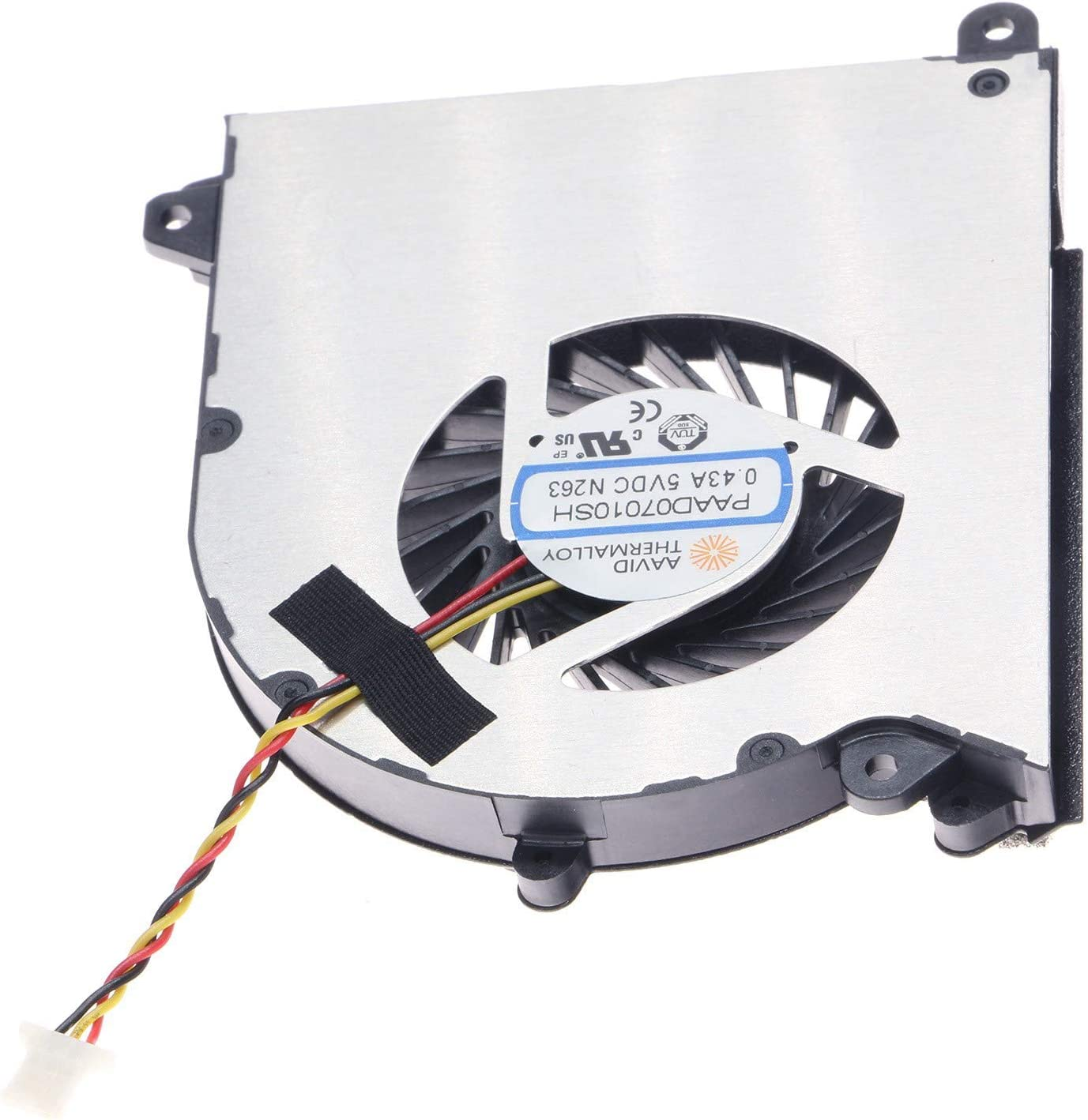 New CPU Cooling Fan for MSI GS30 GS30-2M MS-13F1 PAAD07010SH N263
