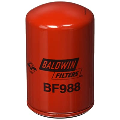 Baldwin BF988 Fuel Spin-on, Red: Automotive