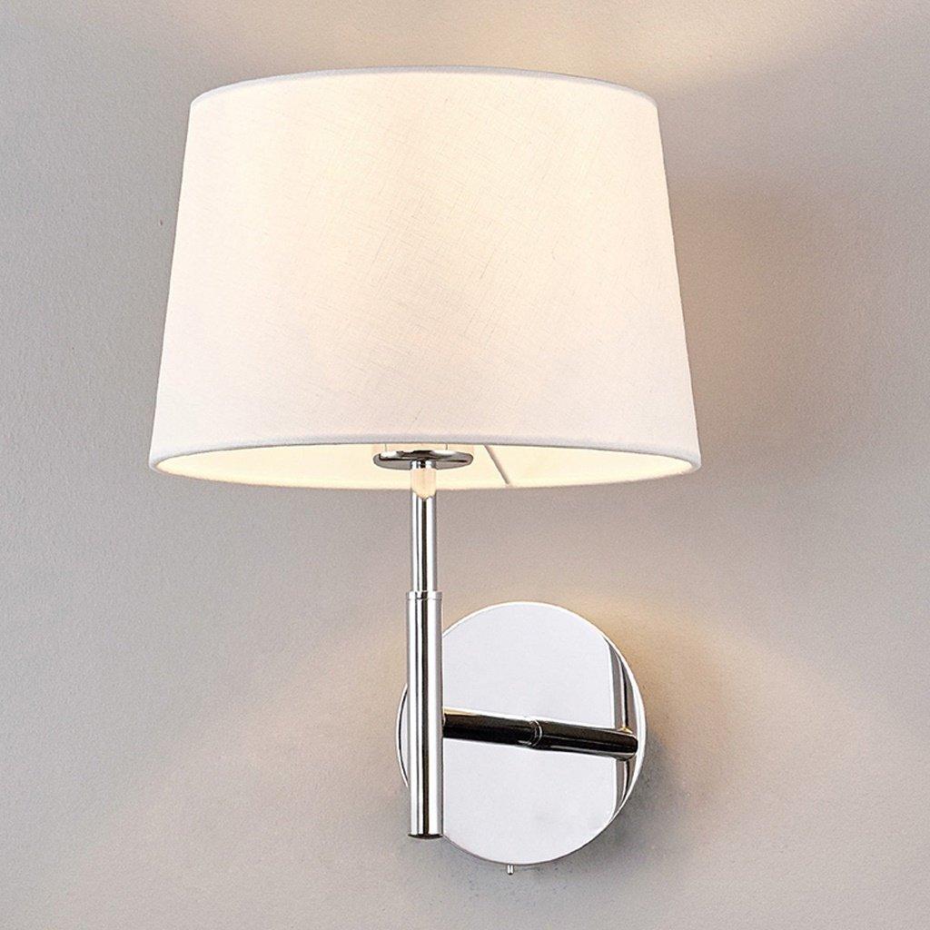 Unbekannt SKC Lighting-Wandlampe Modernes Einfachheitstuch Hotel Wohnzimmer Schlafzimmer Aisle Balkon Nachttisch Mit Schalter Wandleuchte (Farbe   Fernbedienungsschalter)