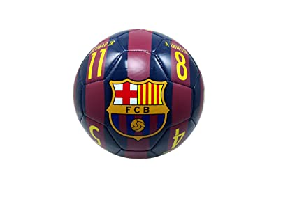 f84d9b31320 Amazon.com : FC Barcelona Authentic Official Licensed Soccer Ball ...