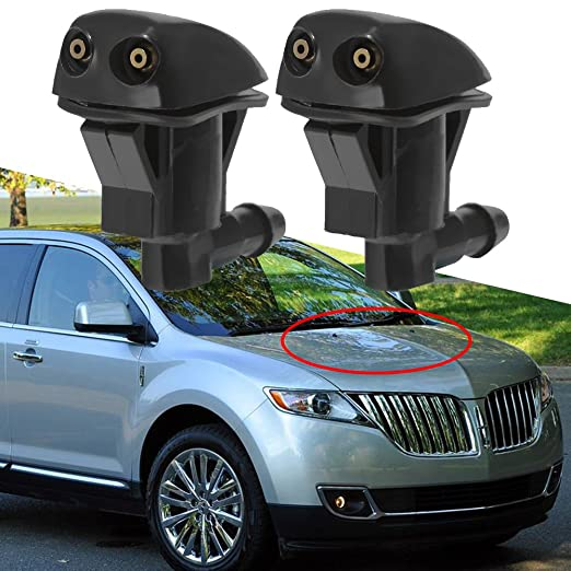 Amazon.com: Saihisday Front Windshield Washer Nozzle for Ford Edge 07-10, Ford Focus 08-11, Lincoln MKX 07-10 (One Pair): Garden & Outdoor