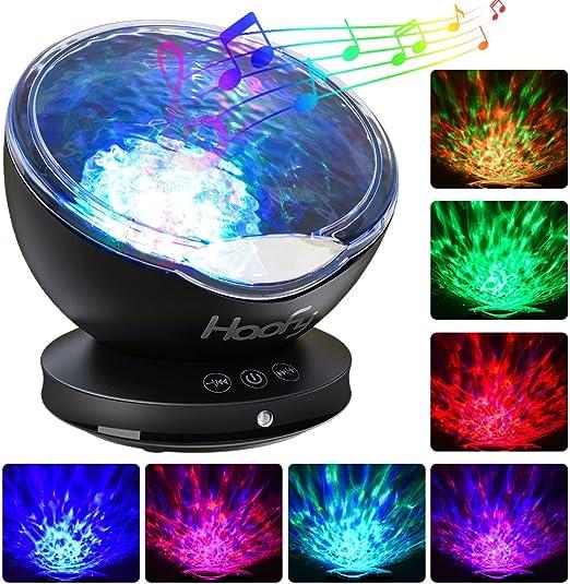 Lámpara Proyector, Haofy Proyector LED de Luz Océano Nocturna para ...