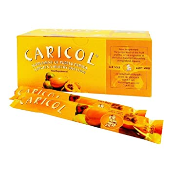 Nutri Advanced Caricol 20 palos (Papaya) para Colon Apoyo: Amazon.es ...