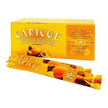 Nutri Advanced Caricol 20 palos (Papaya) para Colon Apoyo ...