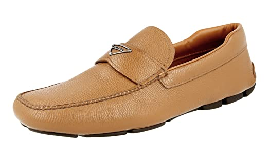 Men's 2DD127 Leather Loafers