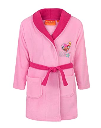 Paw Patrol Loveheart Girl\'s Dressing Gown (6 Years): Amazon.co.uk ...
