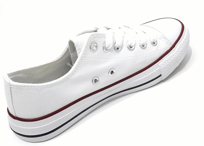 Sneakers bianche con stringhe per donna Brandelia W33BQTT