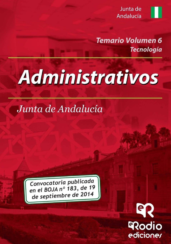 Temario Volumen 6. Administrativos de la Junta de Andalucía (Spanish Edition) pdf