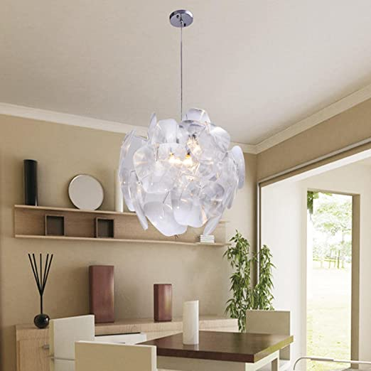 lfnrr Fácil y graziöse 1 pieza - Lámpara de techo para salón ...