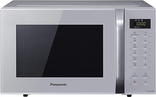 Panasonic NN-K36H - Microondas con Grill (800 W, 23 L, 5 Niveles ...