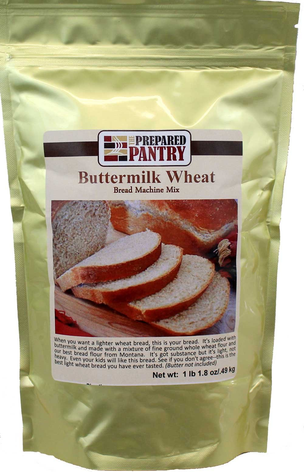 The Prepared Pantry Buttermilk Wheat Bread Machine Mix, 17.8 Ounce (Pack of 20)
