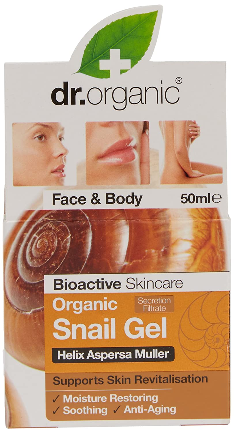 Dr.Organic Gel Facial/Corporal de Baba de Caracol 50 ml: Amazon.es: Belleza