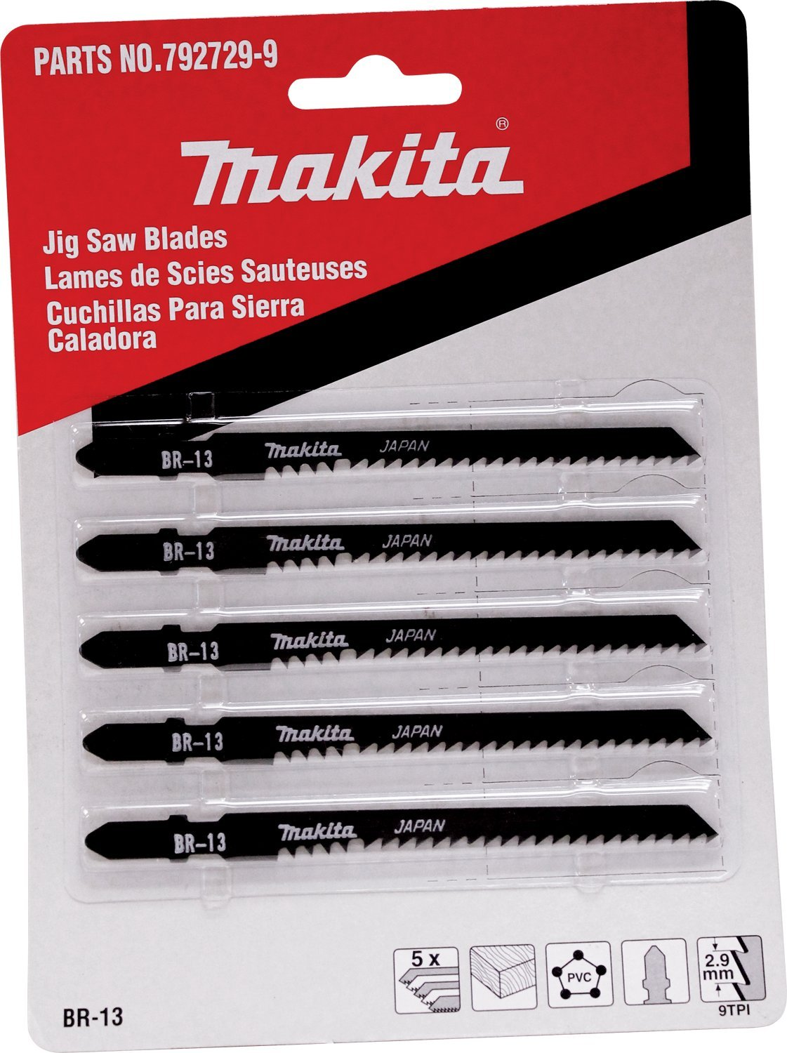 Makita 792729 9 jig saw blade br 13 5 pack makita jigsaw blades makita 792729 9 jig saw blade br 13 5 pack makita jigsaw blades amazon greentooth Images
