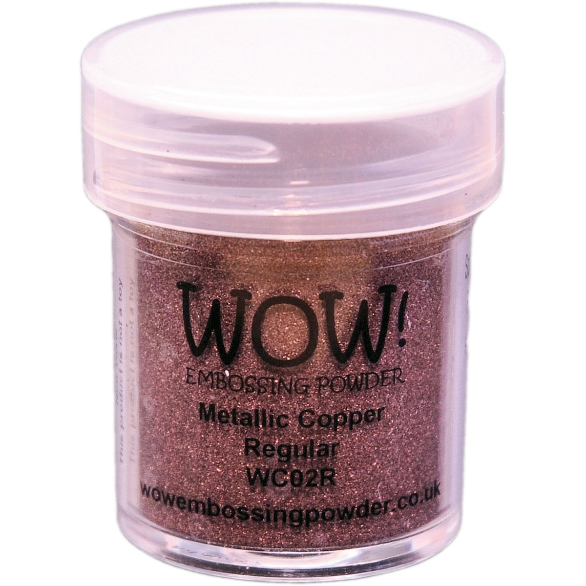 WOW! Goffratura polvere 15ml-rame Wow Embossing Powder WOW-WC02R