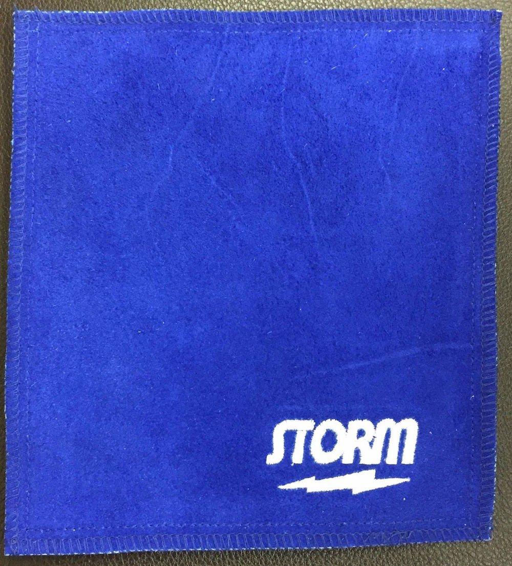 Storm Bowling Shammy Bowling Ball Cleaning Pad Blue