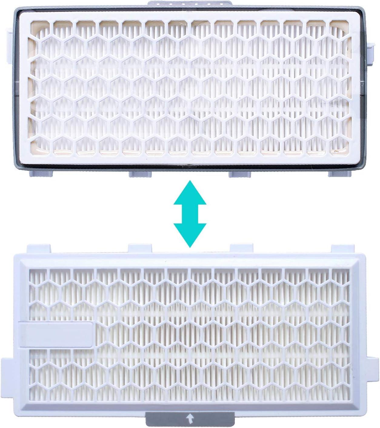 Filtro HEPA Airclean per aspirapolvere Miele serie Complete C3 C2 Compact C1 C2 S8340 S6240 S5211 S8000 S6000 S5000 S4000 Poweka SF-HA50