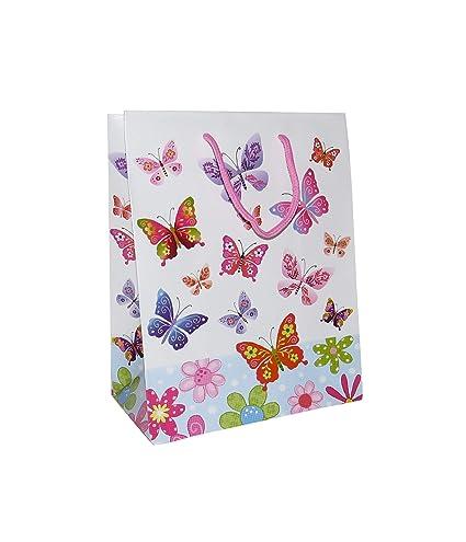 L y XL - decorativos con forma de mariposa bolsa de regalo ...