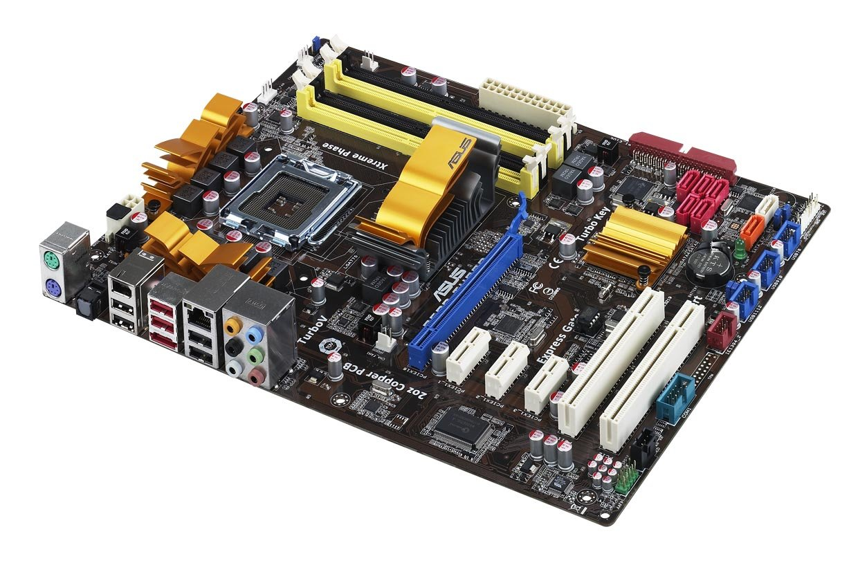 ASUS P5QD Turbo - Placa base (16 GB, Intel, Socket T (LGA 775), Gigabit Ethernet, Atheros L1E, ATX): Amazon.es: Informática